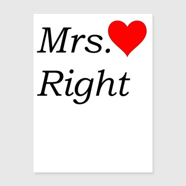 Mrs. Right - Poster 18x24