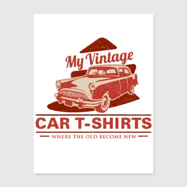 Shop Automobile Wall Art online | Spreadshirt