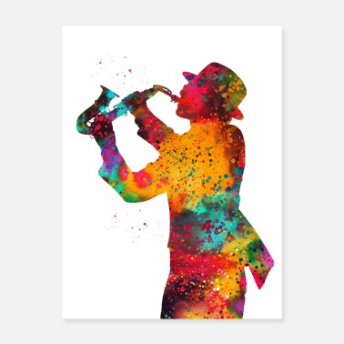 Jazz Jazz player - Poster
