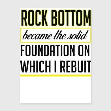 rock bottom - Poster 18x24