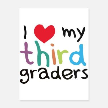 Grade Third Grade Teacher - Poster