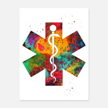 Rod Rod of Asclepius - Poster