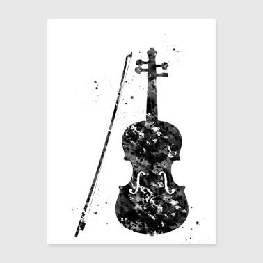 Shop Violin Wall Art online | Spreadshirt