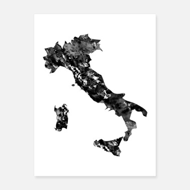 Italy Map Italy map - Poster