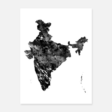 India India map - Poster