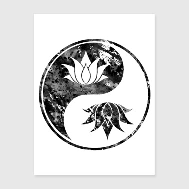 Shop Yin Yang Wall Art online | Spreadshirt