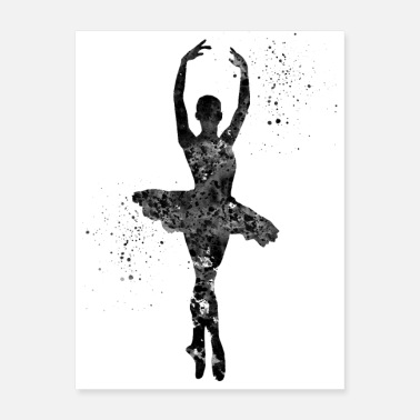 Performance Ballet Dancer - Poster