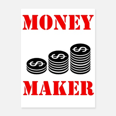 Money-grubbing Money Maker - Poster