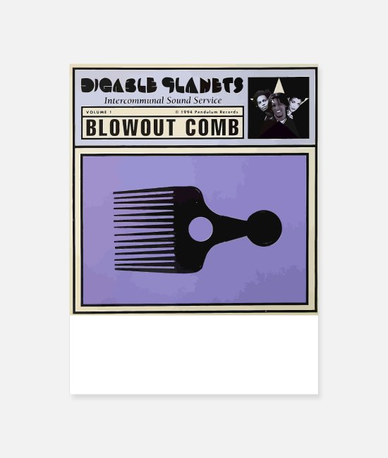Rap Posters - Digable Planets are DOPE - Poster white
