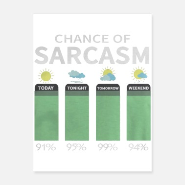 Sarcasm Chance Of Sarcasm - Poster