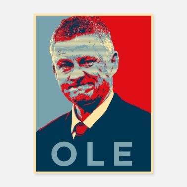 United Ole Hope - Poster