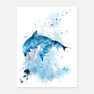 Dolphines Dolphin - Poster