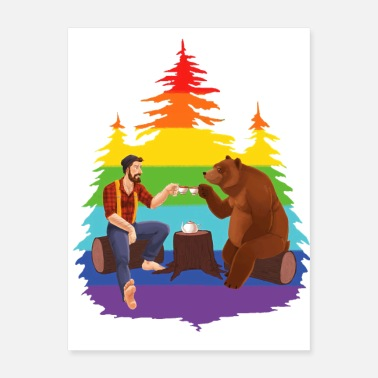 Romantic Bear Romantic Dinner - Poster