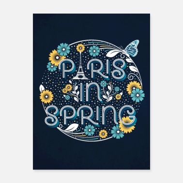 Springs Paris in Spring - Poster