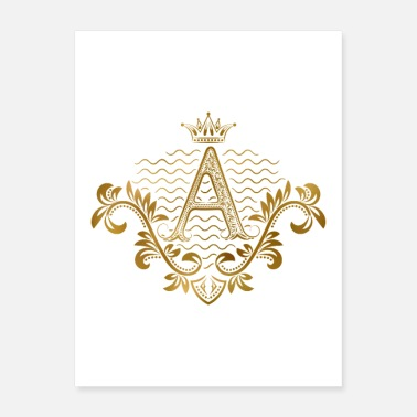 Fraternity A initial royal - Poster
