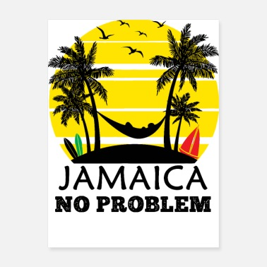 Jamaica Jamaica No Problem - Poster