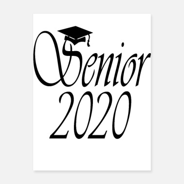 Senior 2020 Senior 2020 T-Shirt - Class of 2020 T-Shirt - Poster