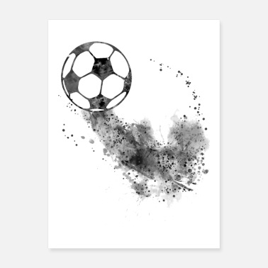 Ball Soccer ball - Poster