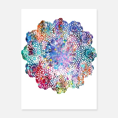 Ornamental Ornamental flower - Poster