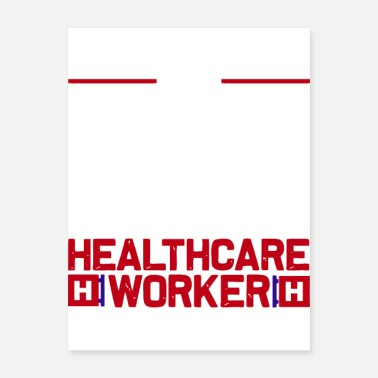 I Cant Stay I can t stay at home i m a healthcare worker - Poster