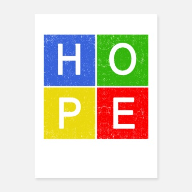 Inspirational hope inspiration shirt - Poster