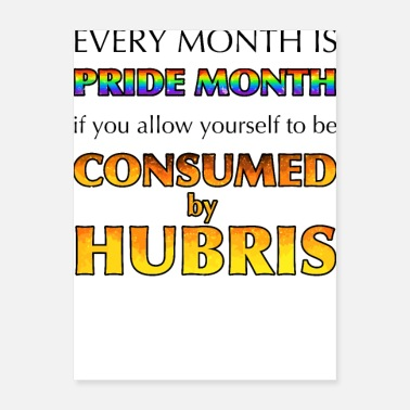 Consume Consumed By Hubris - Poster