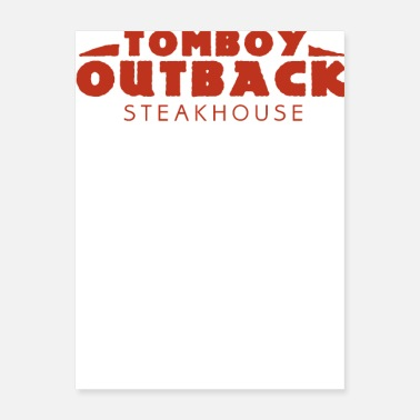 Outback Tomboy Outback Steakhouse - Poster