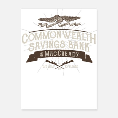 Commonwealth Commonwealth Savings Bank of MacCready - Poster
