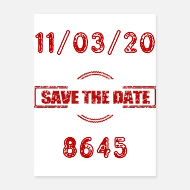 United States Save the Date: 11/03/20 - Poster