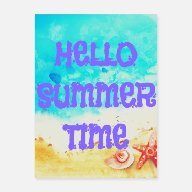 Locksmith hello summer time - Poster