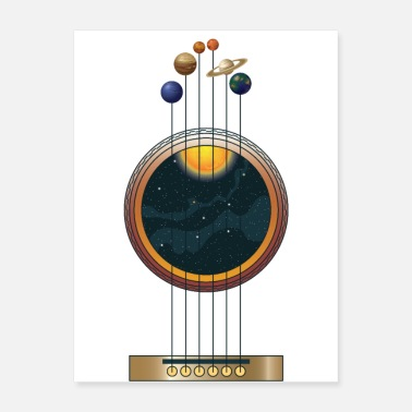 Tuning Guitarist Life: Space Music - Poster