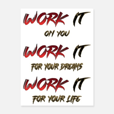 Works Work it - Poster