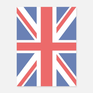 Union Jack Union Jack Britain UK Flag - Poster