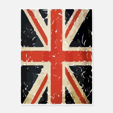 Union Jack union jack british flag - Poster