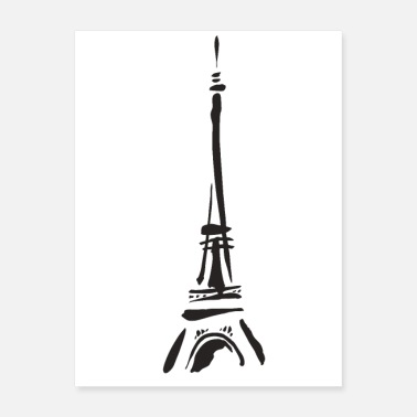 Tower Eiffel tower Paris France - Poster