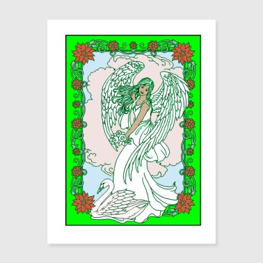Angel in Frame Poster - Poster 18x24
