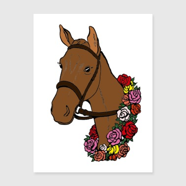 Champion Horse Poster - Poster 18x24