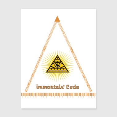 Immortal's Code and Third-Eye secrets - Poster 18x24