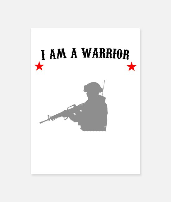 Army Posters - ARMY - Poster white