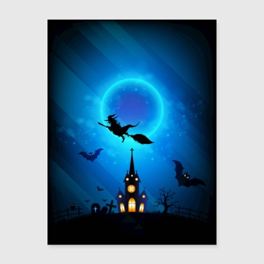 Witch and Darkness - Poster 18x24