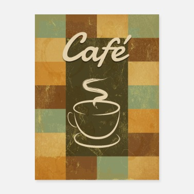 An old fashioned coffee - Poster