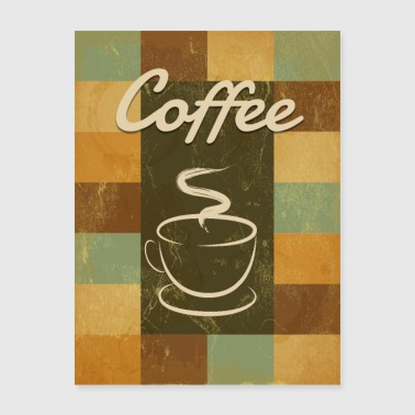 An Old-fashioned Coffee - Poster 18x24