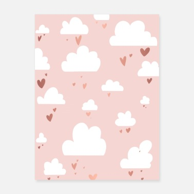 Cloud Pink clouds / Pink clouds - Poster