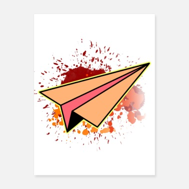 Paper Planes paper plane - Poster