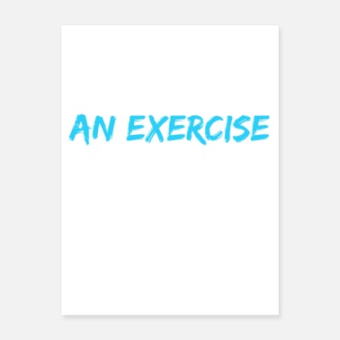 Exercise There's An Exercise For That - Poster
