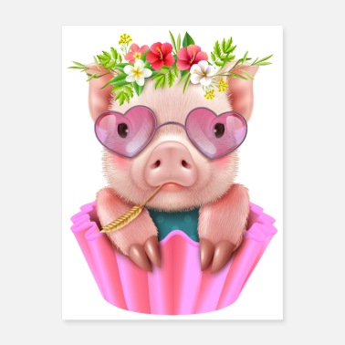 Sow Pig - Poster