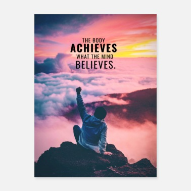 Body Motivation - The Body Achieves - Poster
