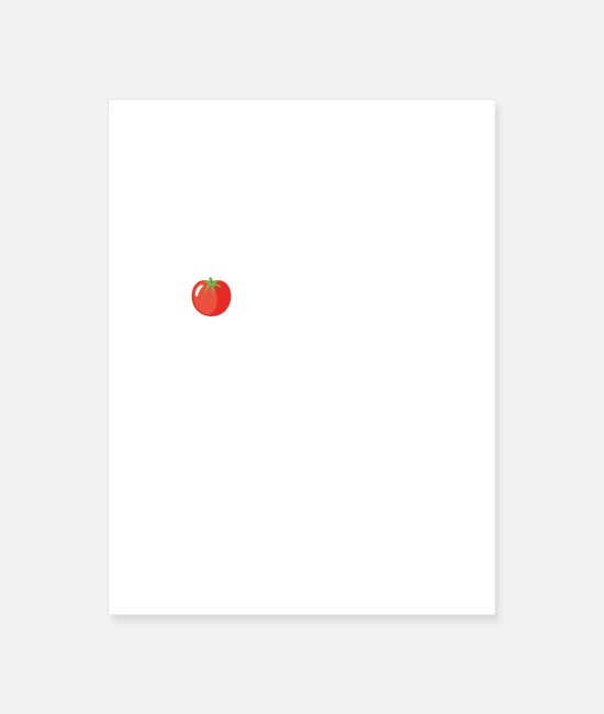 Garden Posters - Will Talk Tomatoes With Anyone - Poster white