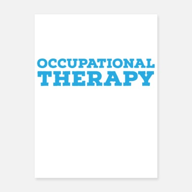 Occupation Motivate Occupational Therapy - Poster