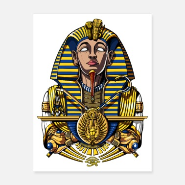 Egyptian King Egyptian Pharaoh King Tut - Poster